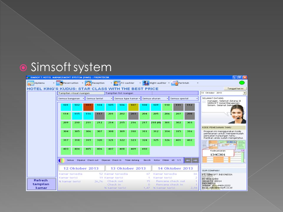 Simsoft system