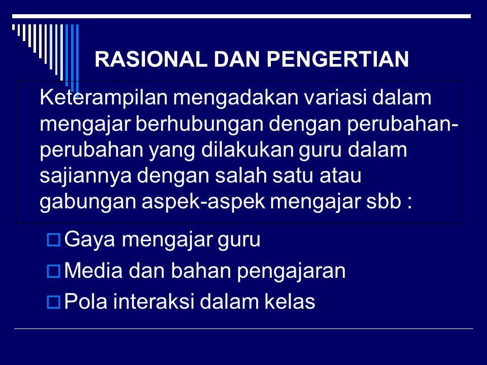 RASIONAL DAN PENGERTIAN