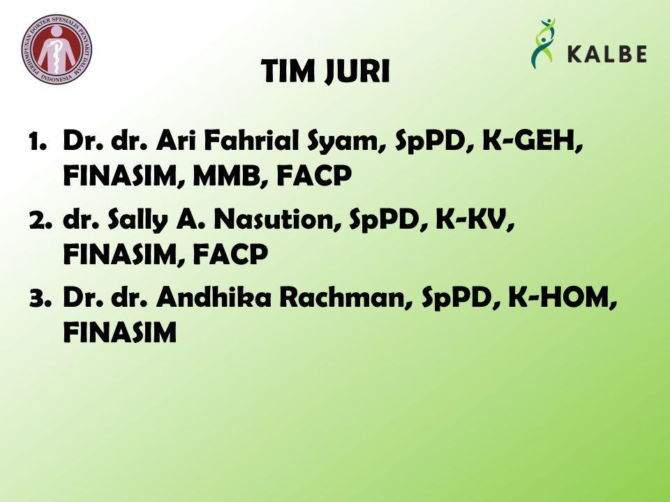 TIM JURI Dr. dr. Ari Fahrial Syam, SpPD, K-GEH, FINASIM, MMB, FACP