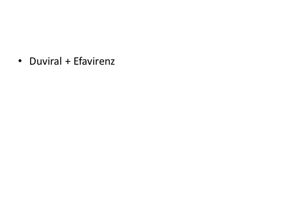Duviral + Efavirenz