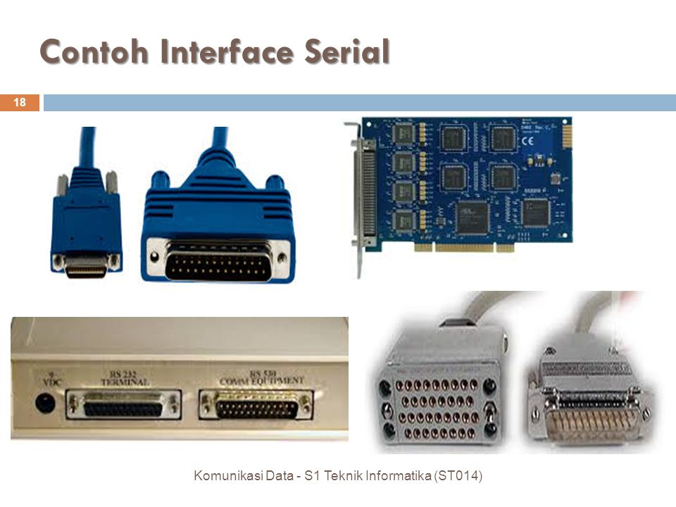 Contoh Interface Serial