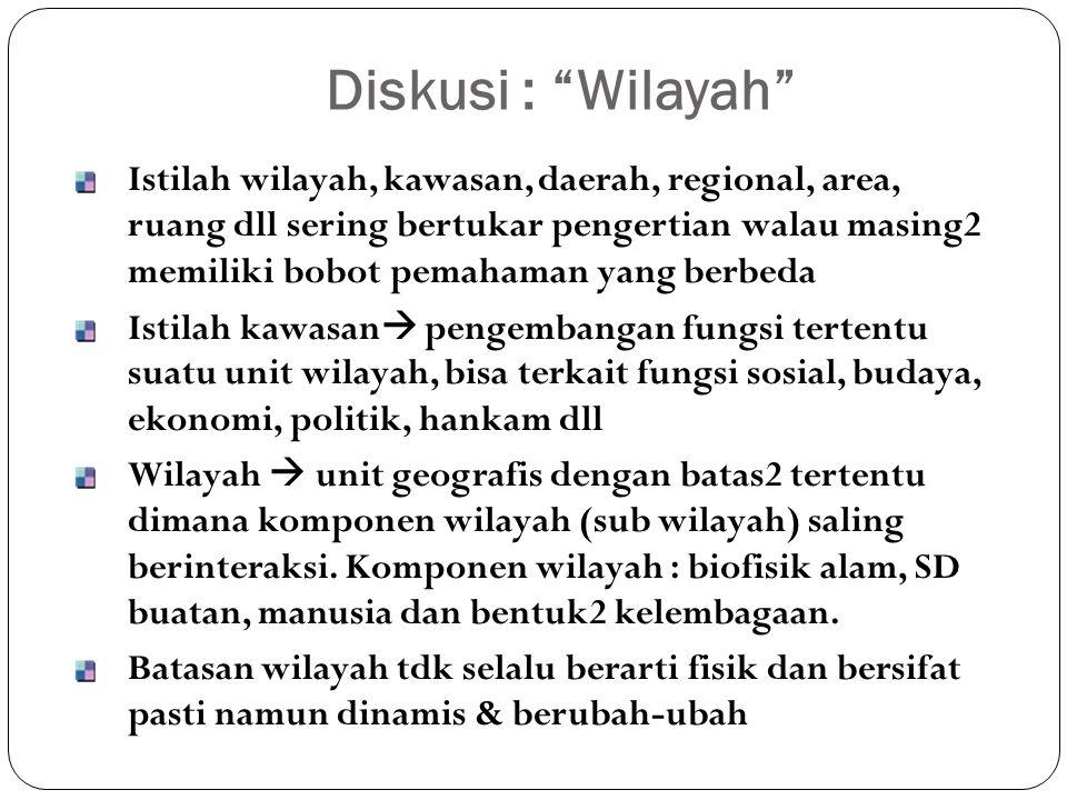 Diskusi : Wilayah