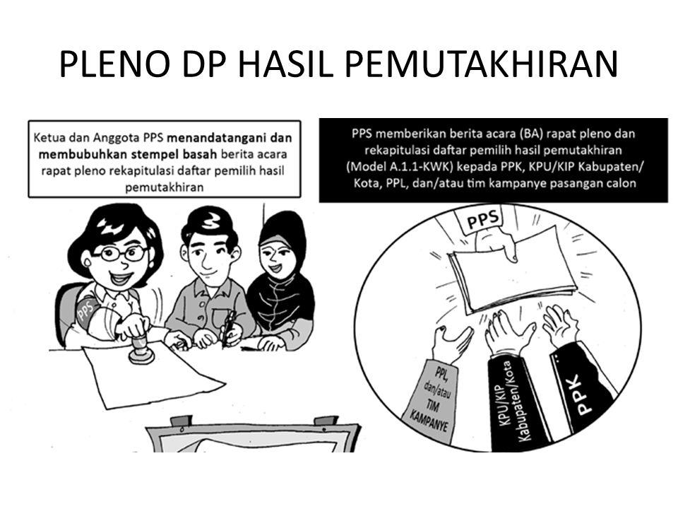 PLENO DP HASIL PEMUTAKHIRAN
