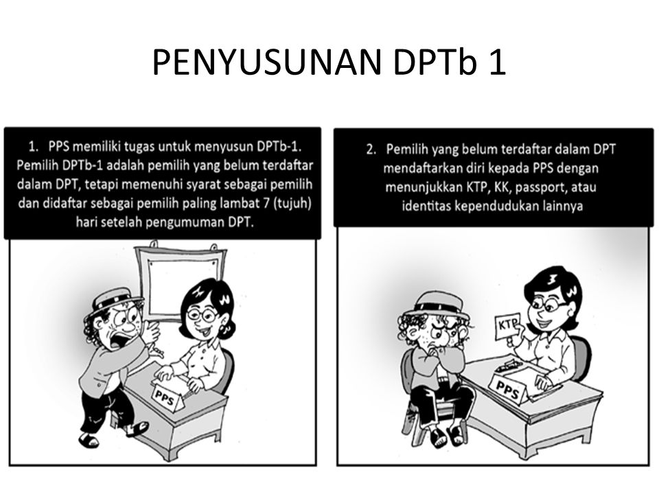 PENYUSUNAN DPTb 1