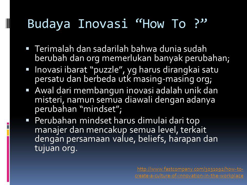 Budaya Inovasi How To