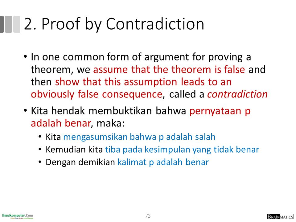 2. Proof by Contradiction