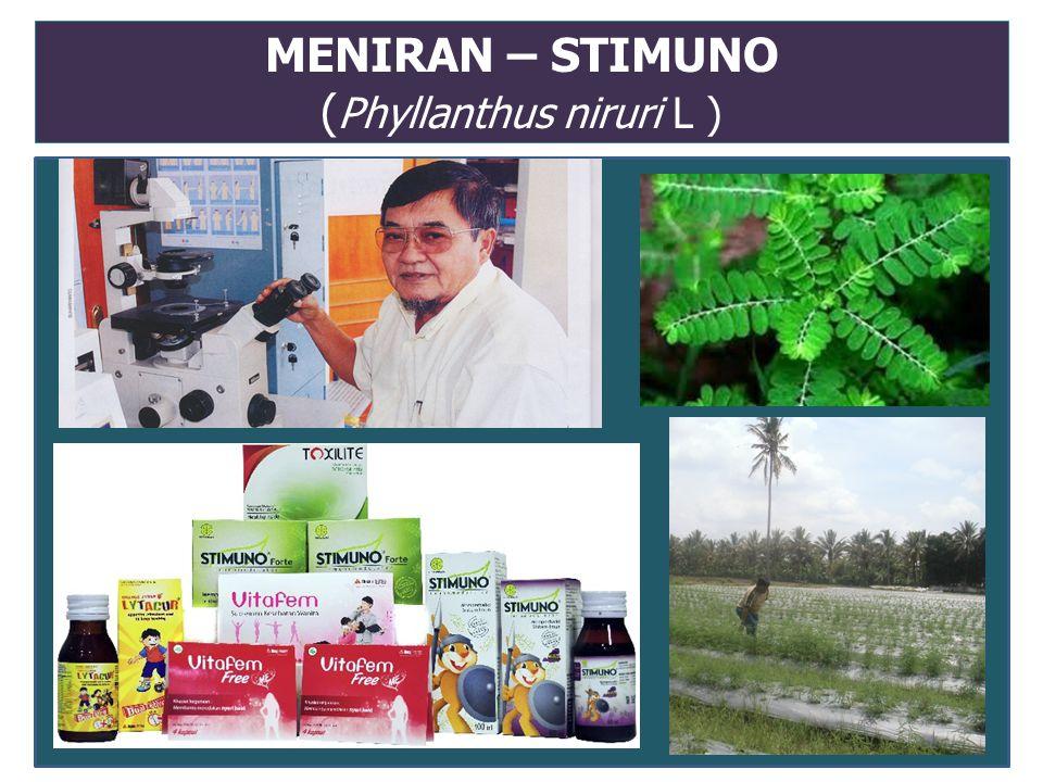 MENIRAN – STIMUNO (Phyllanthus niruri L )