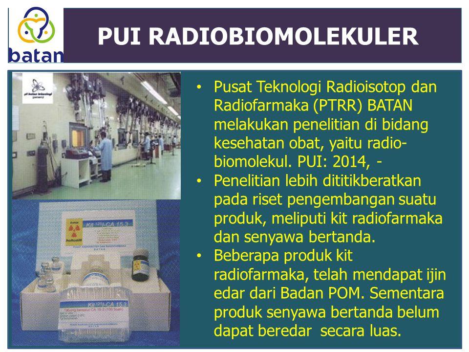 PUI RADIOBIOMOLEKULER