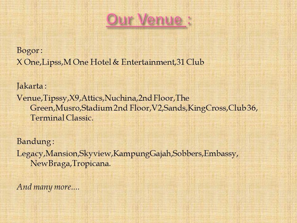 Our Venue :