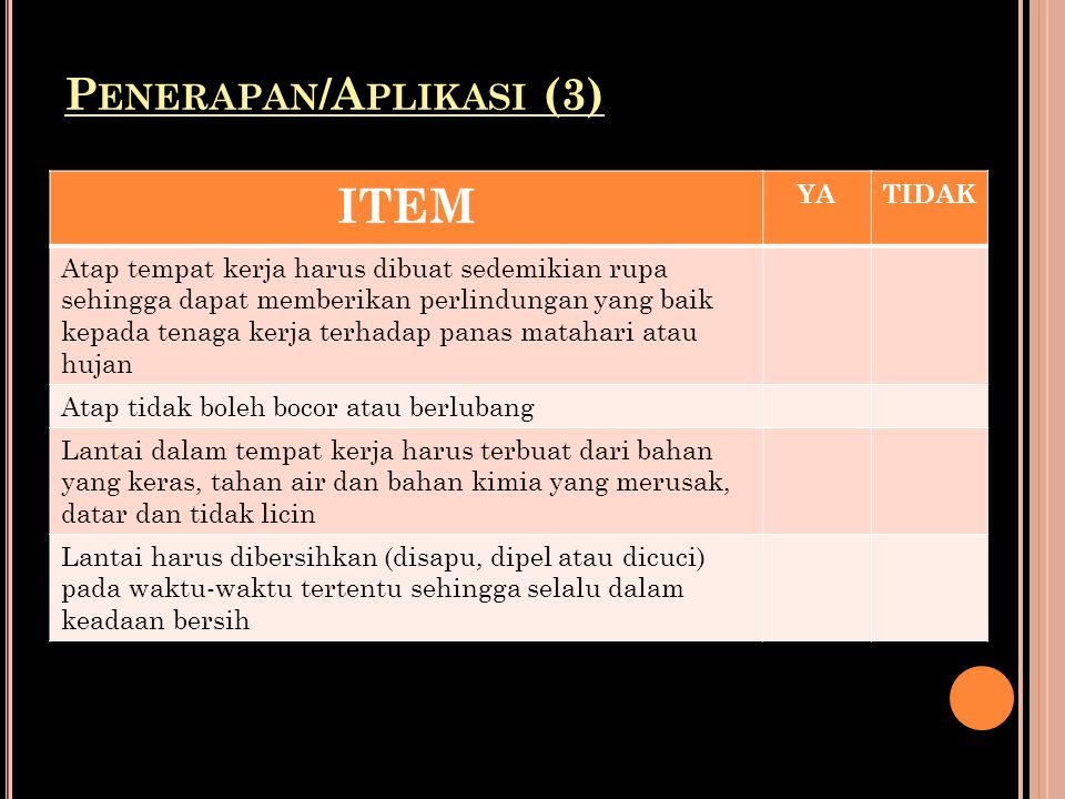Penerapan/Aplikasi (3)