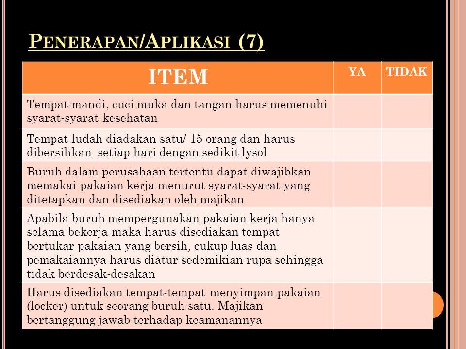 Penerapan/Aplikasi (7)