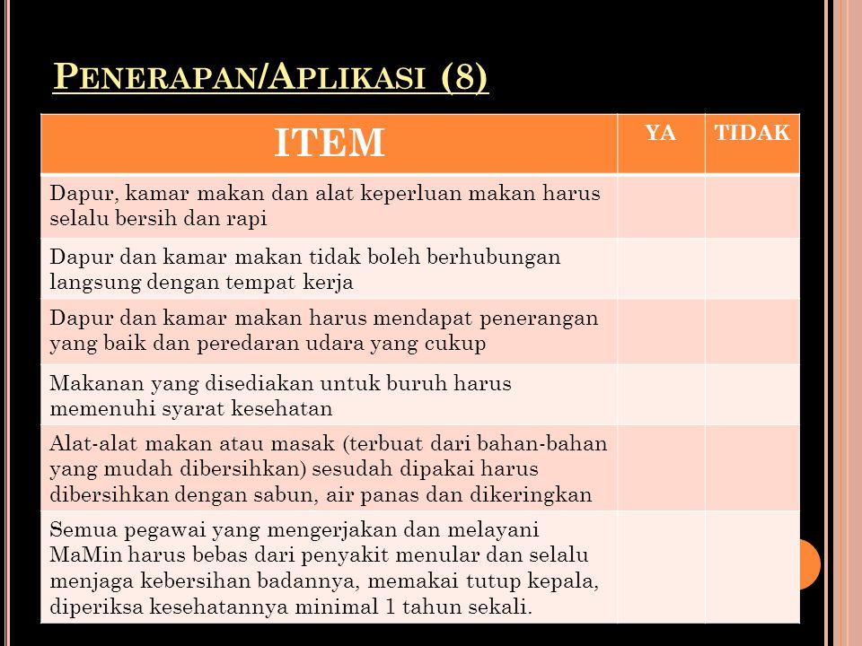 Penerapan/Aplikasi (8)