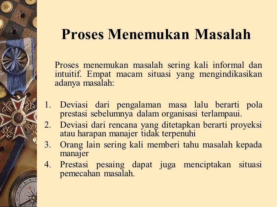 Proses Menemukan Masalah