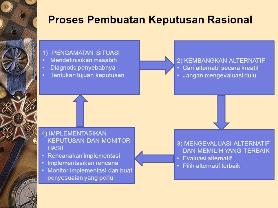 Proses Pembuatan Keputusan Rasional