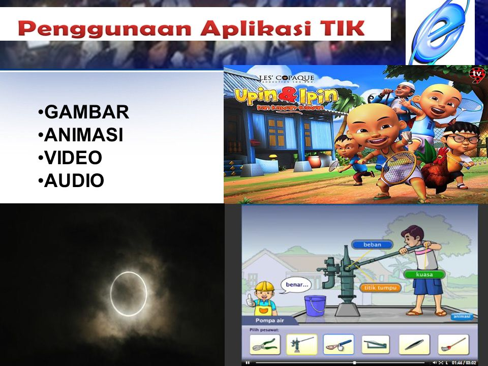 GAMBAR ANIMASI VIDEO AUDIO