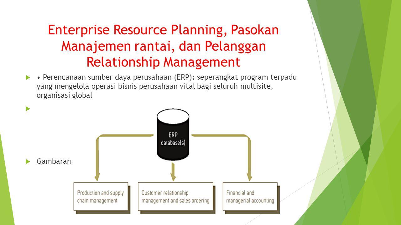 Enterprise Resource Planning, Pasokan Manajemen rantai, dan Pelanggan Relationship Management