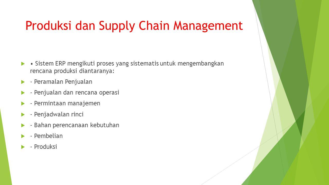 Produksi dan Supply Chain Management