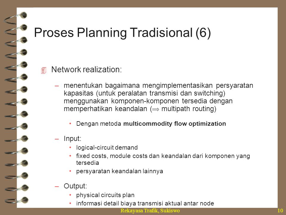 Proses Planning Tradisional (6)