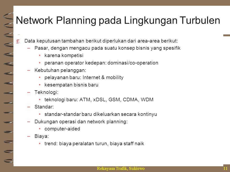 Network Planning pada Lingkungan Turbulen