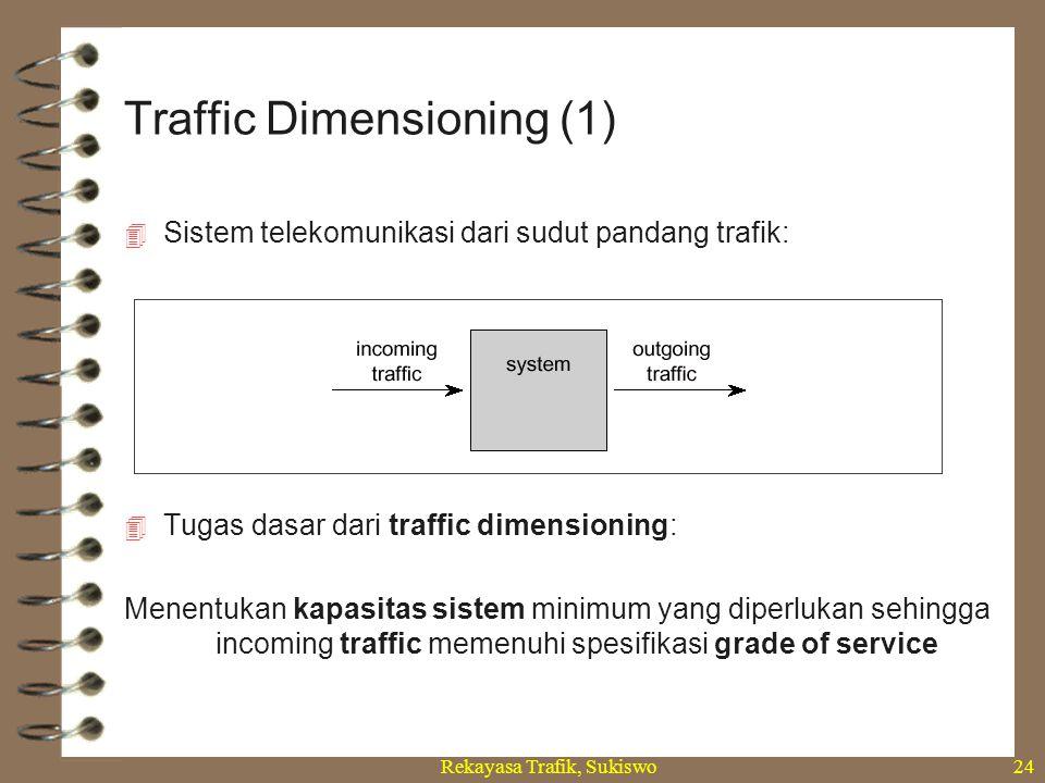 Traffic Dimensioning (1)