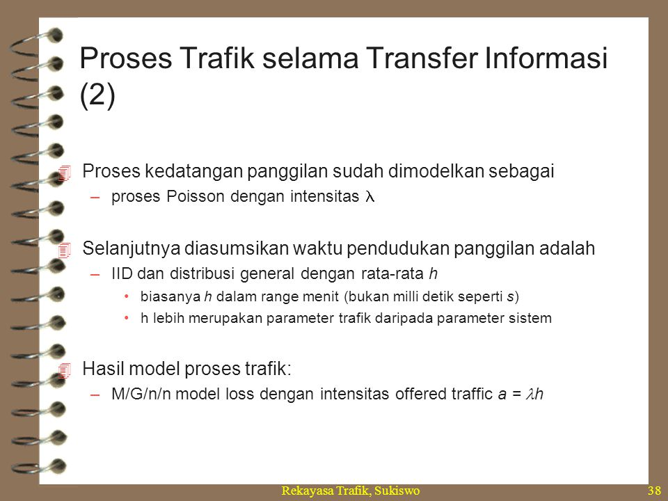 Proses Trafik selama Transfer Informasi (2)