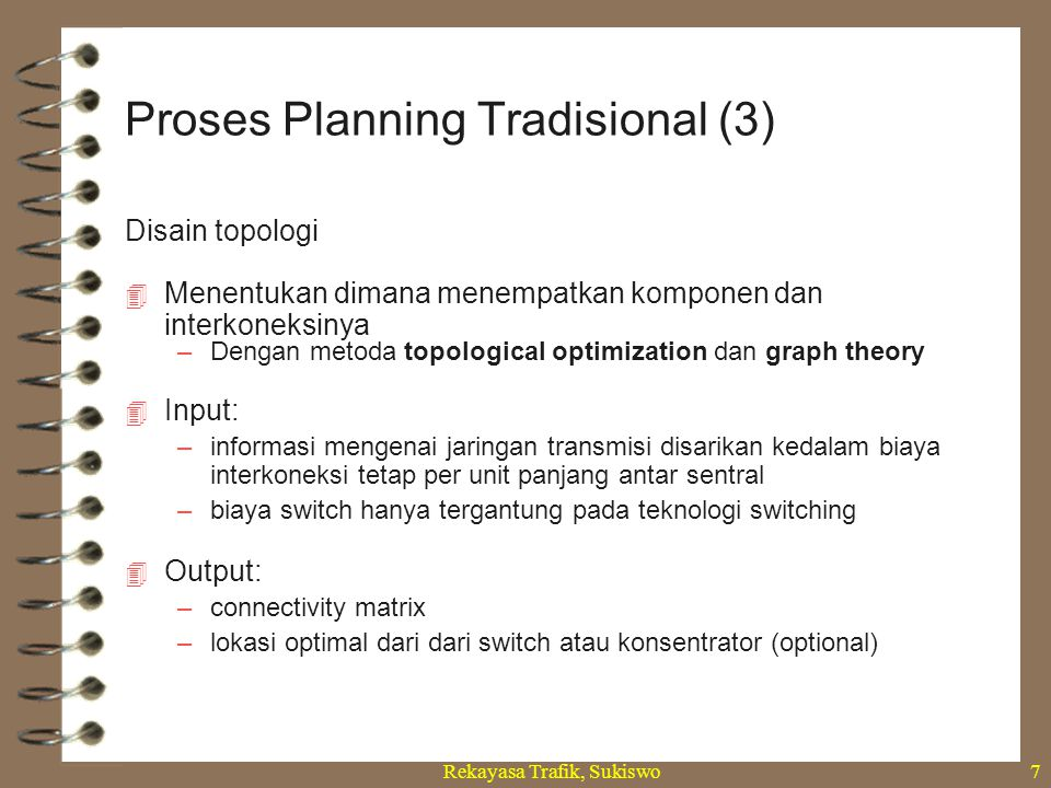 Proses Planning Tradisional (3)
