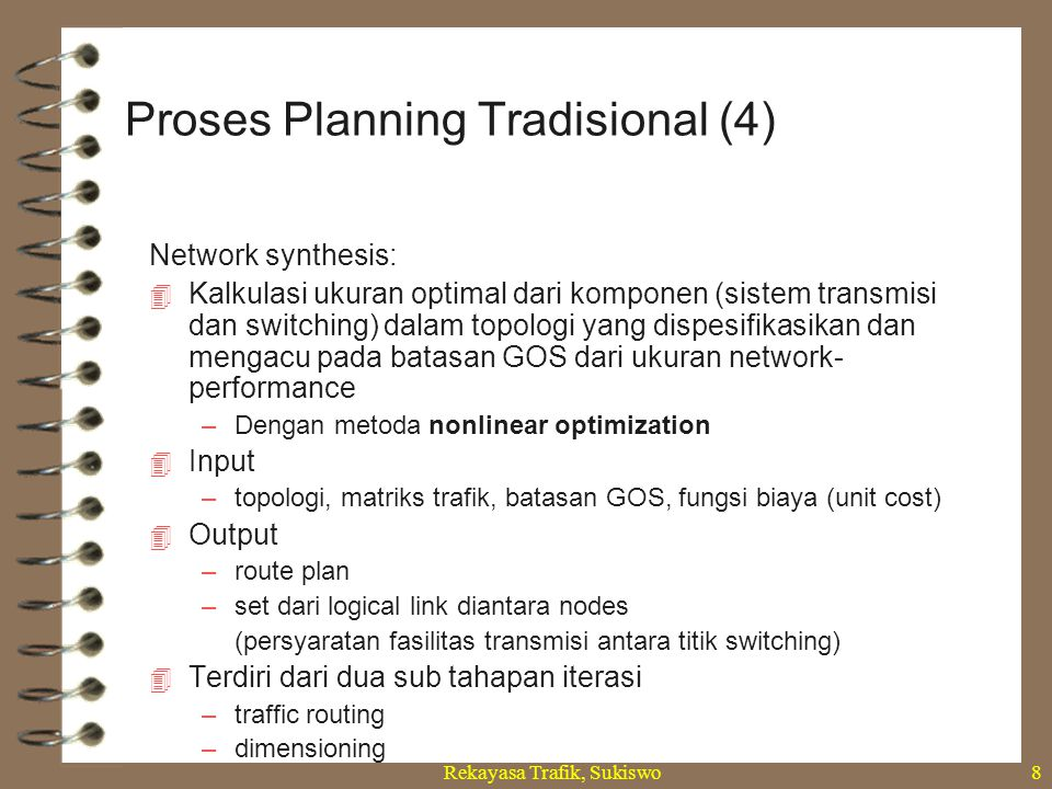 Proses Planning Tradisional (4)