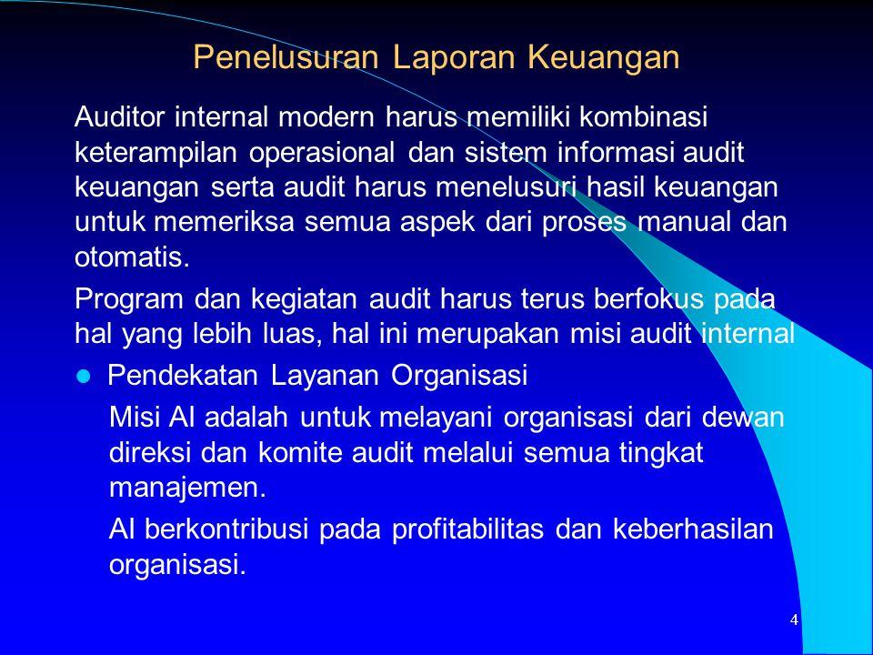 Penelusuran Laporan Keuangan