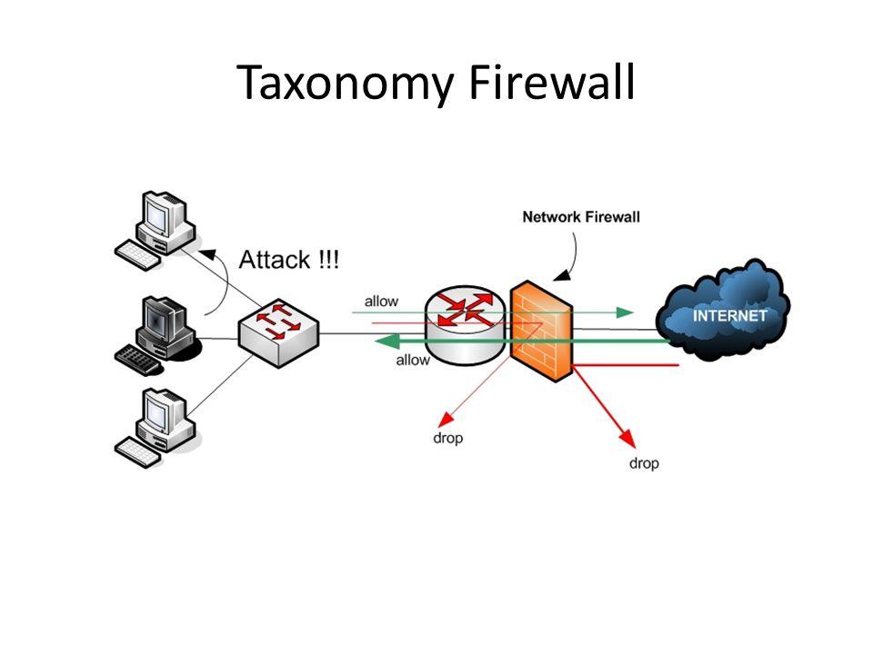 Taxonomy Firewall