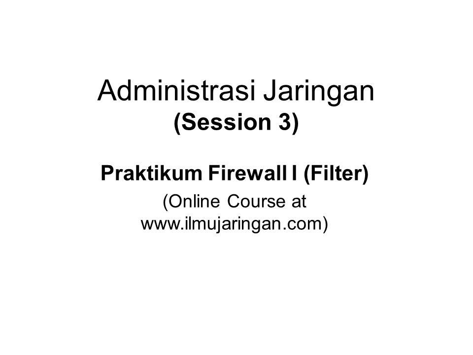 Administrasi Jaringan (Session 3)