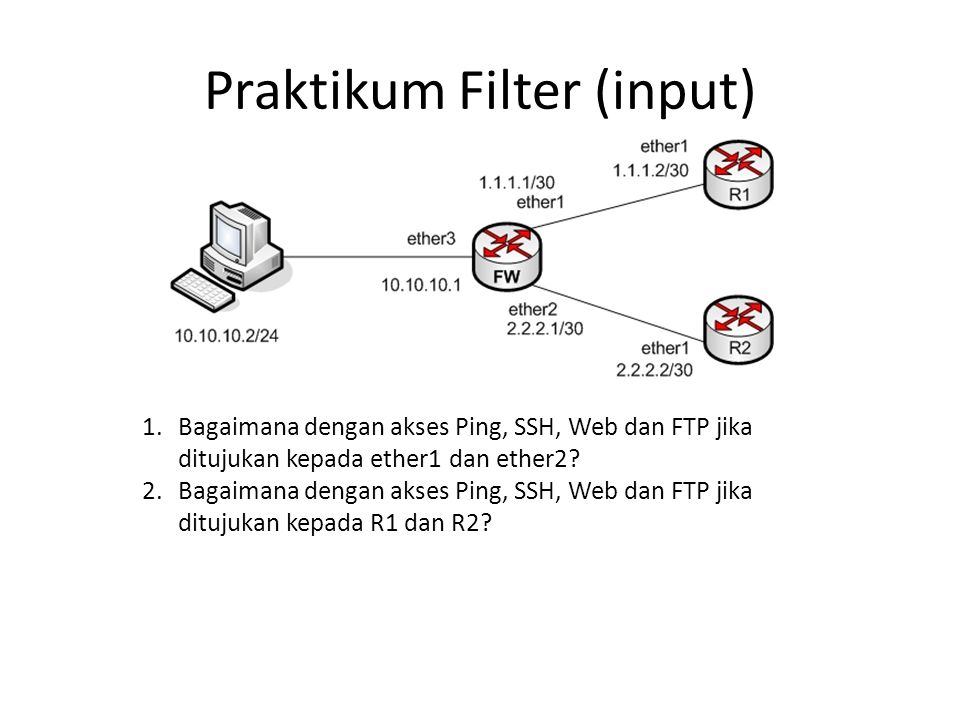 Praktikum Filter (input)