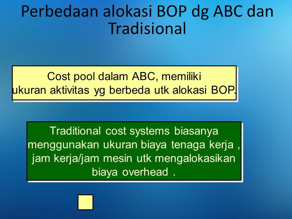 Perbedaan alokasi BOP dg ABC dan Tradisional