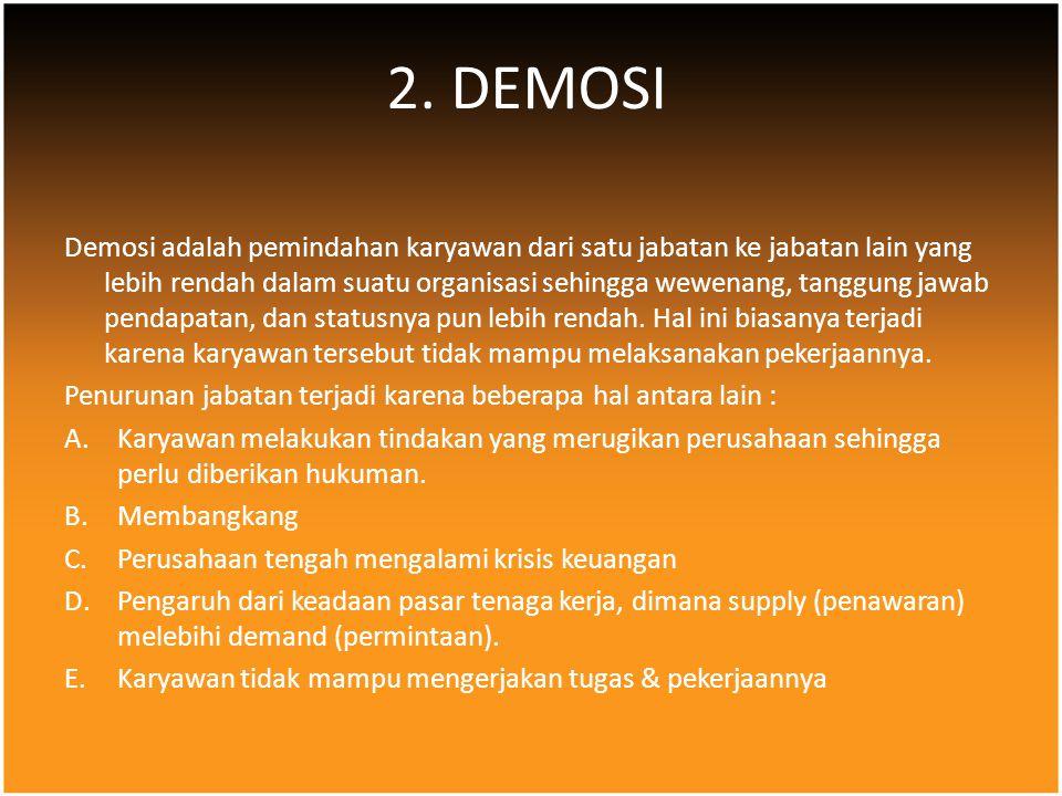 2. DEMOSI