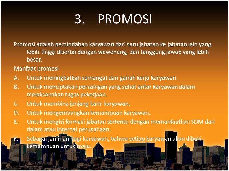 3. PROMOSI