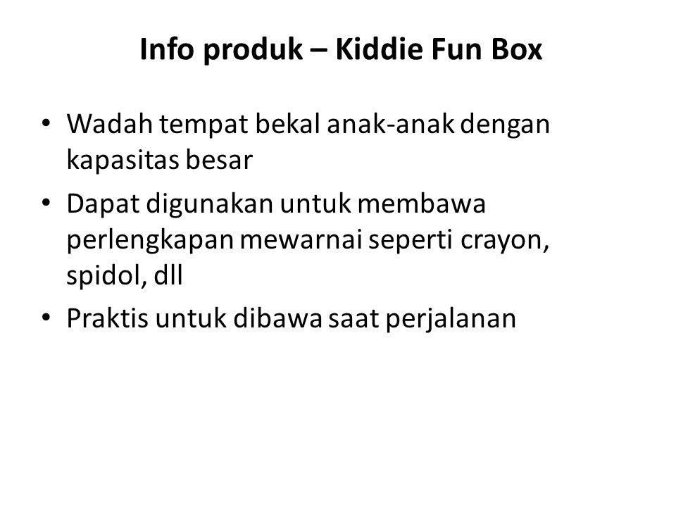 Info produk – Kiddie Fun Box