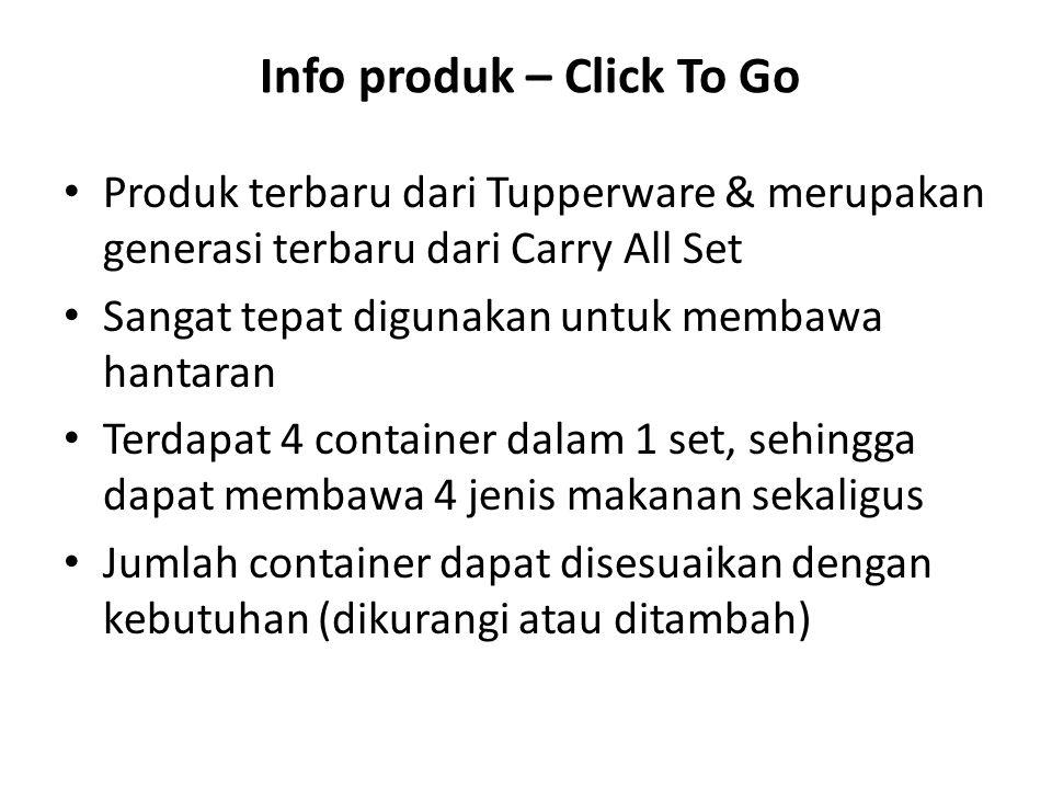 Info produk – Click To Go