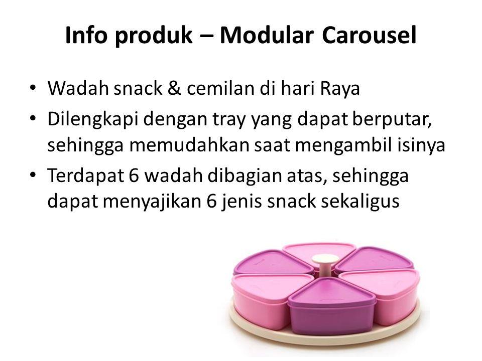 Info produk – Modular Carousel