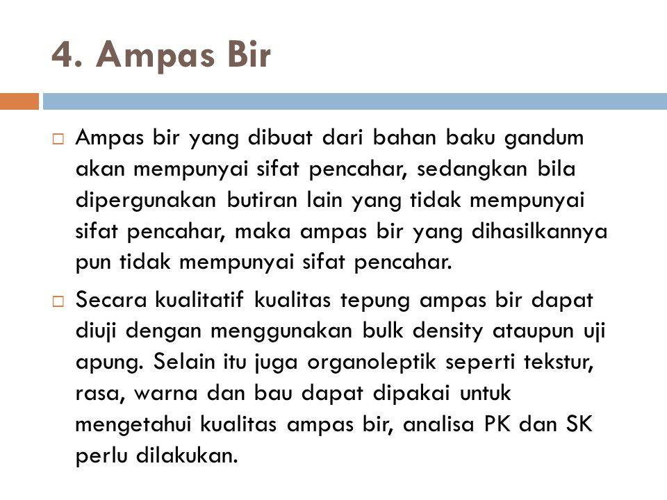4. Ampas Bir