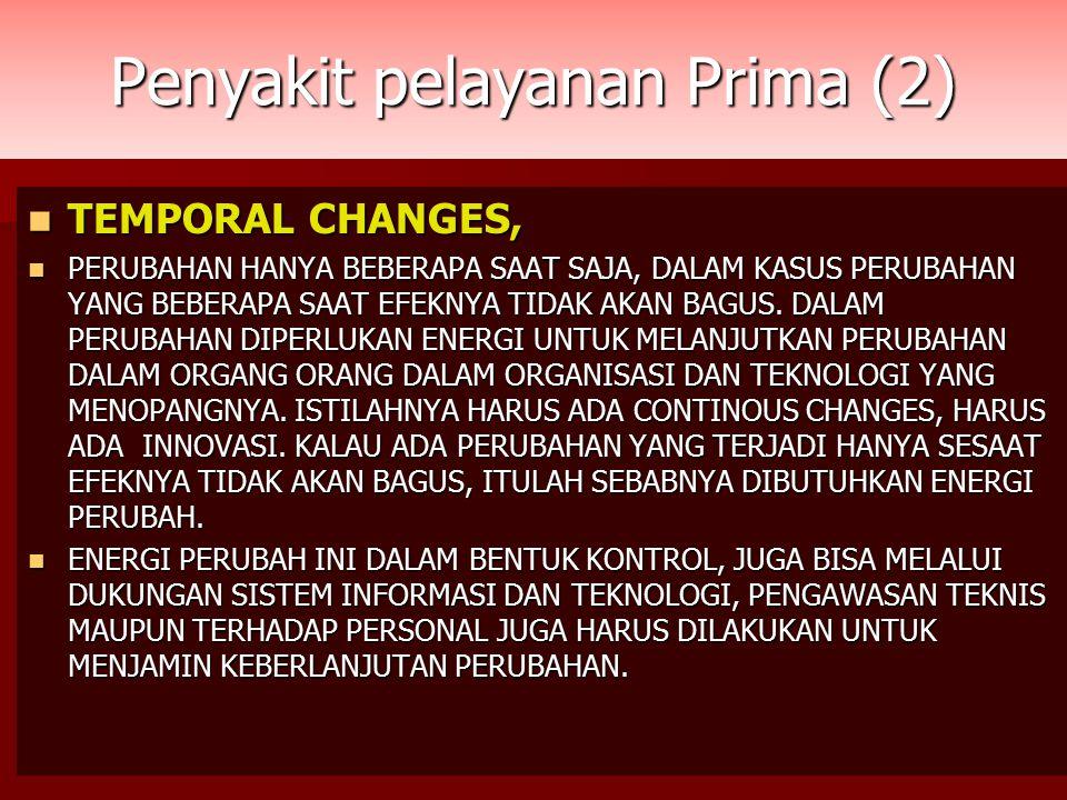 Penyakit pelayanan Prima (2)