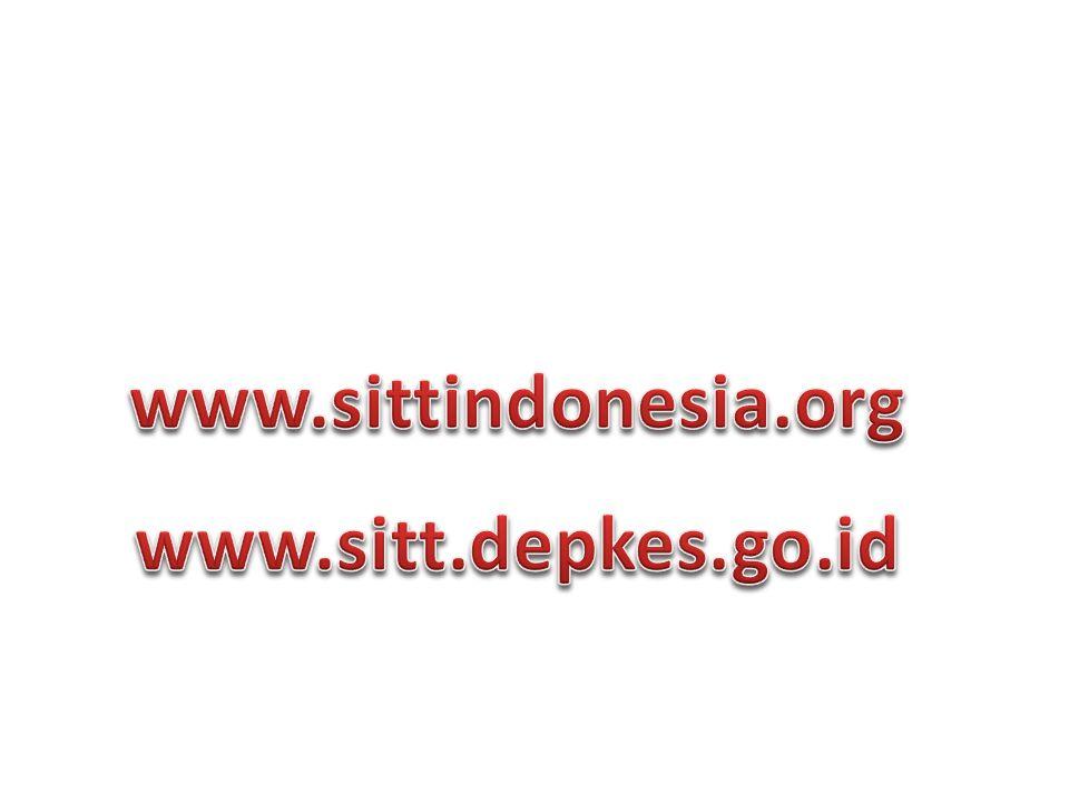 www.sittindonesia.org www.sitt.depkes.go.id