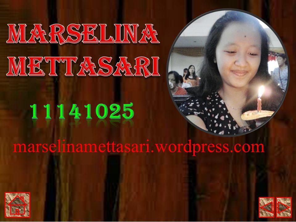 Marselina Mettasari 11141025 marselinamettasari.wordpress.com