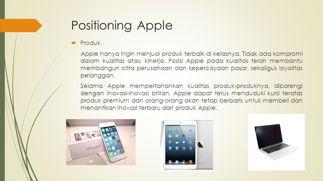 Positioning Apple Produk
