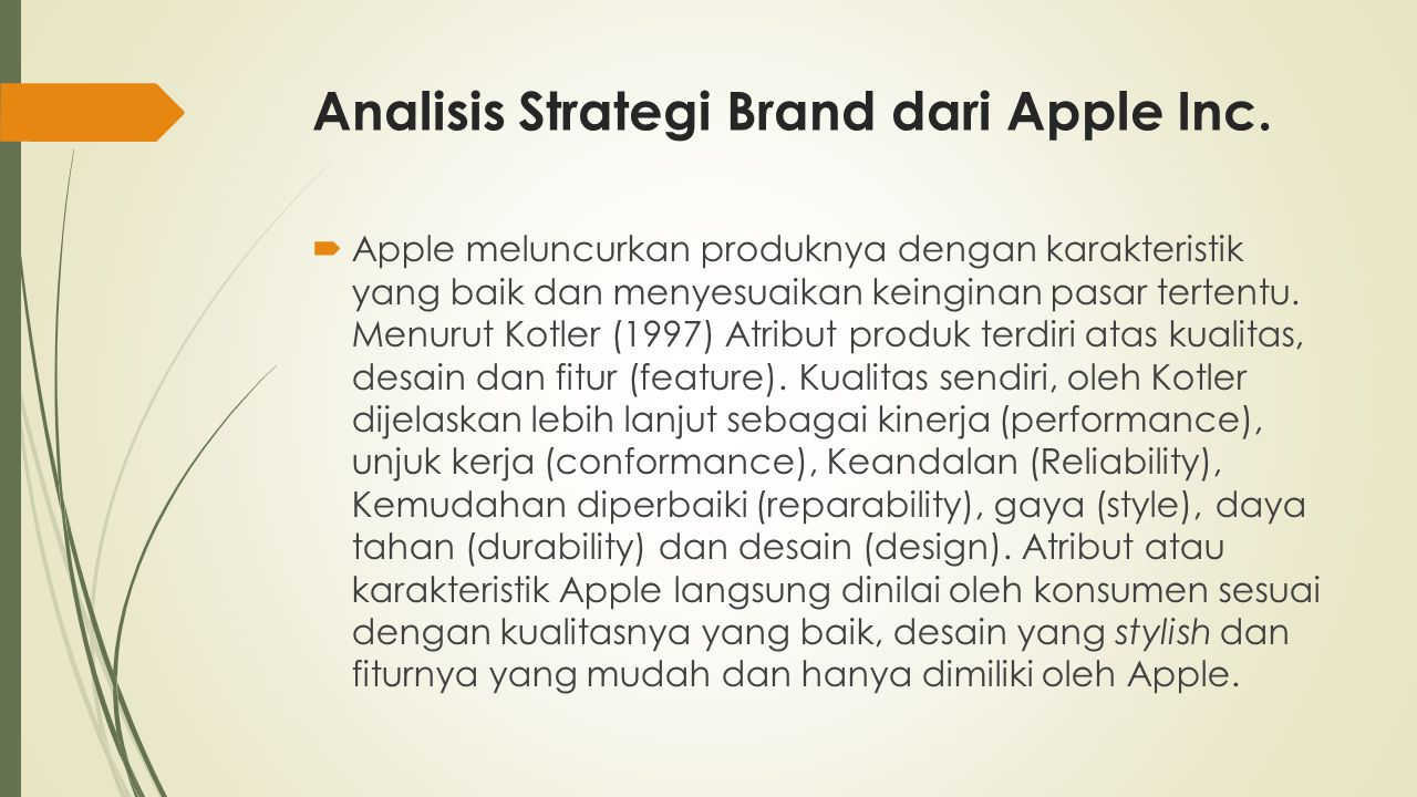 Analisis Strategi Brand dari Apple Inc.