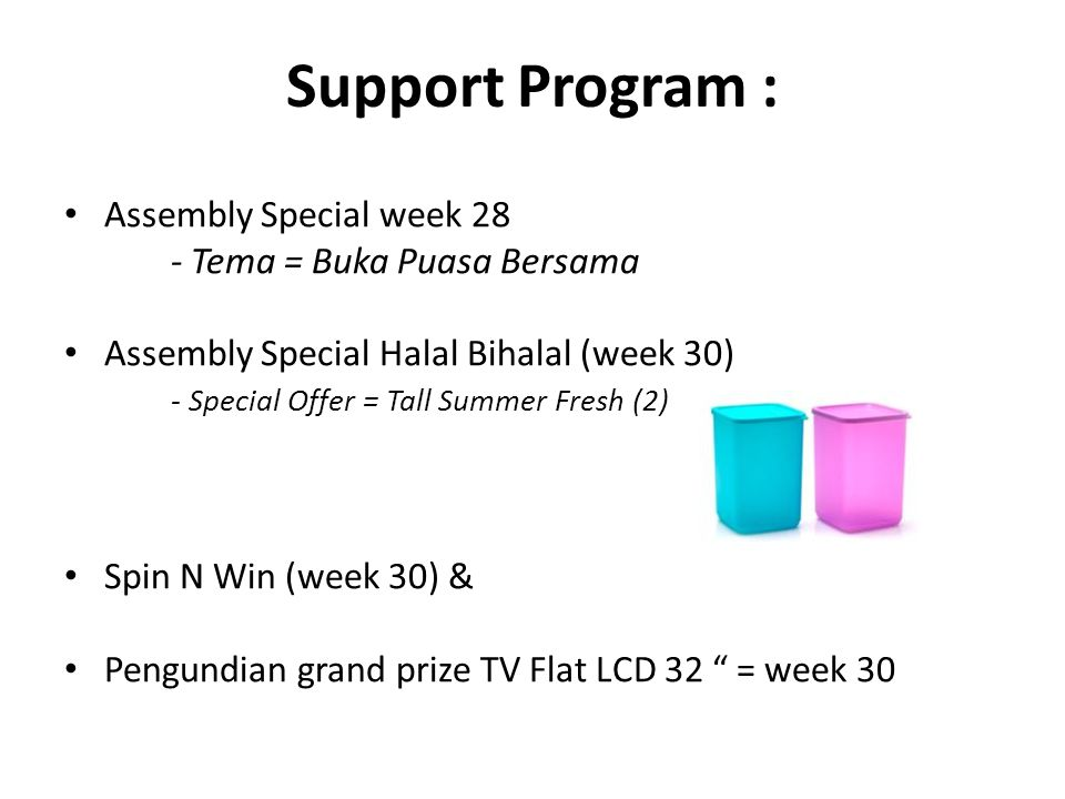 Support Program : Assembly Special week 28 - Tema = Buka Puasa Bersama