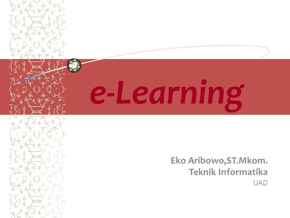 Eko Aribowo,ST.Mkom. Teknik Informatika UAD