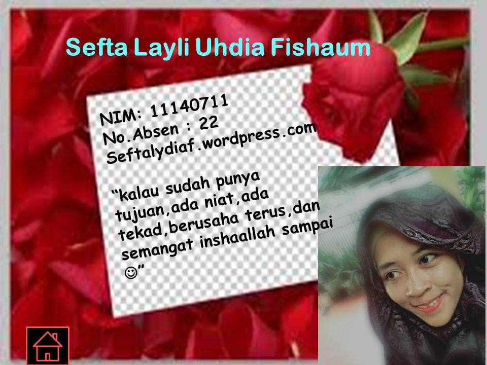 Sefta Layli Uhdia Fishaum
