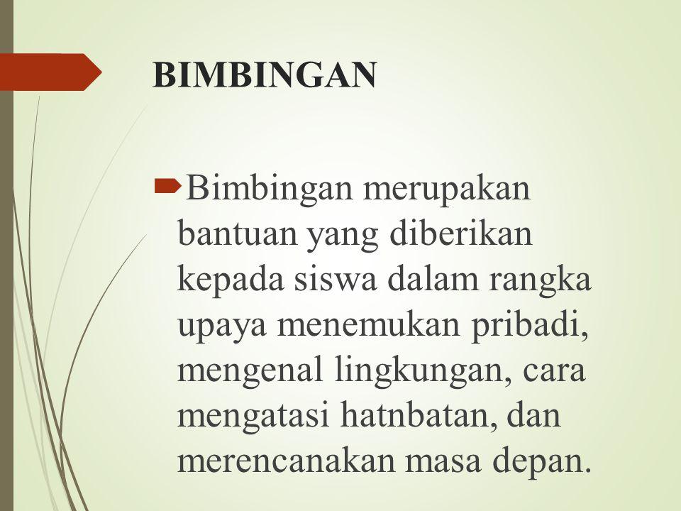 BIMBINGAN