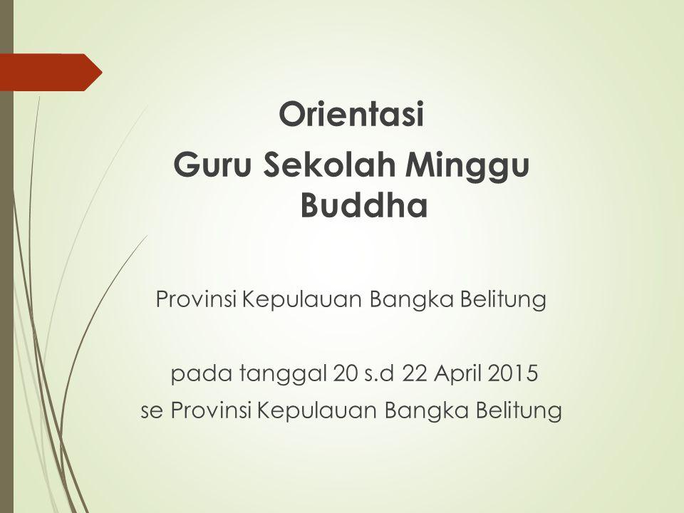 Guru Sekolah Minggu Buddha
