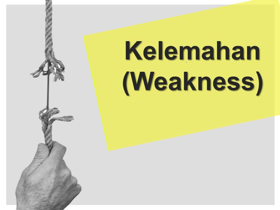 Kelemahan (Weakness)
