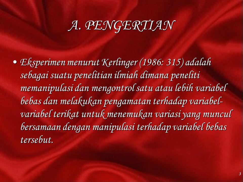 A. PENGERTIAN